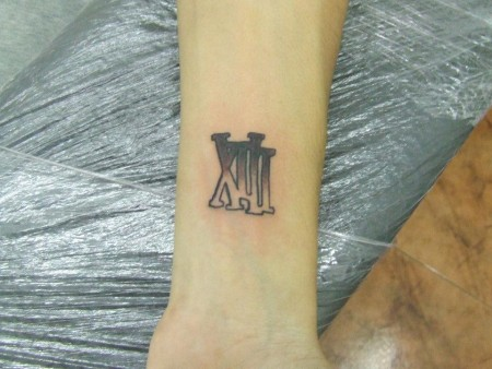 Tatuaje Numero 13 Romano Sfb