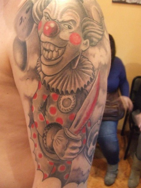 Tatuajes Calaveras De Payasos