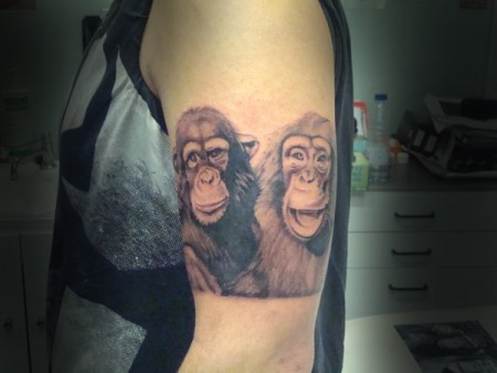 Tres Monos Sabios Tatuajes De Moos Tattoos Tattoo Designs Pictures