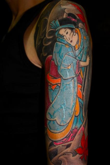 Tatuajes barcelona namakubi tattoo daan - Tattoos geishas japonesas ...