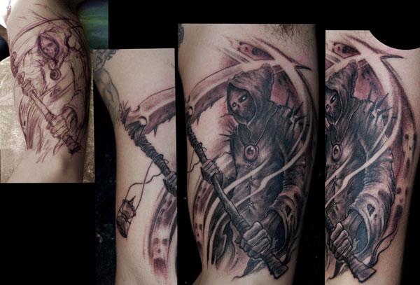 Tattoo De La Muerte Entre Almas