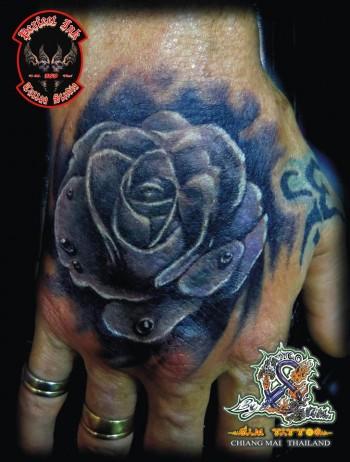 Tatuaje Gotas De Agua Sfb