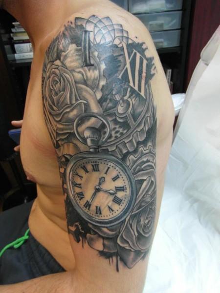 Tattoo Reloj Engranajes Yahoo