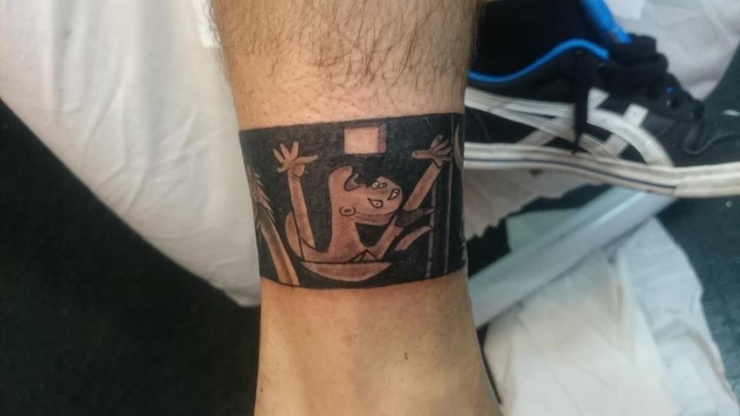 Tattoo Brazalete De Un Cuadro De Picasso