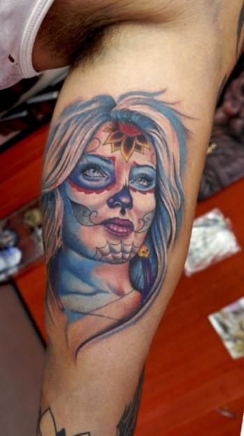 Calaveras Chicas Tattoos