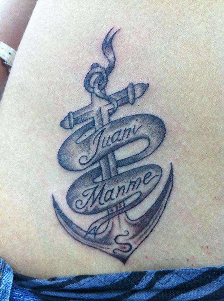 Significado De Las Anclas En Tatuajes Excellent With Significado De