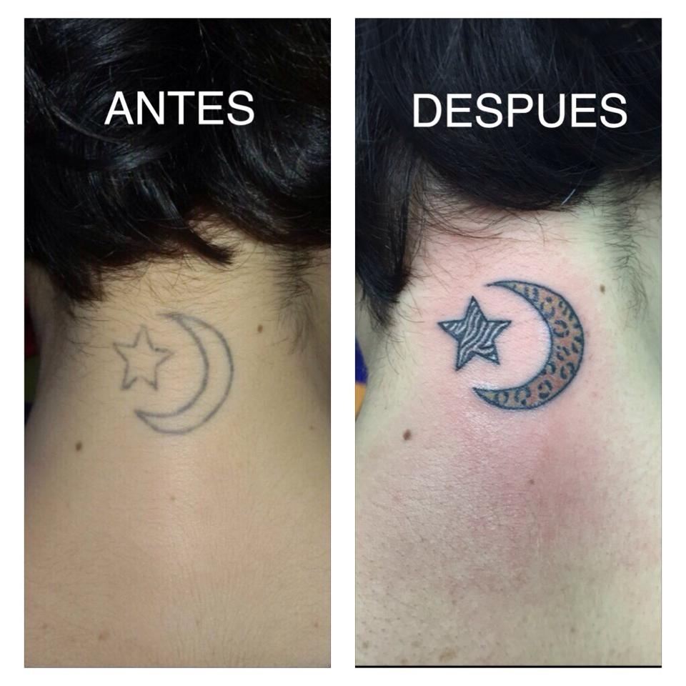 Cover De Una Luna Con Una Estrella