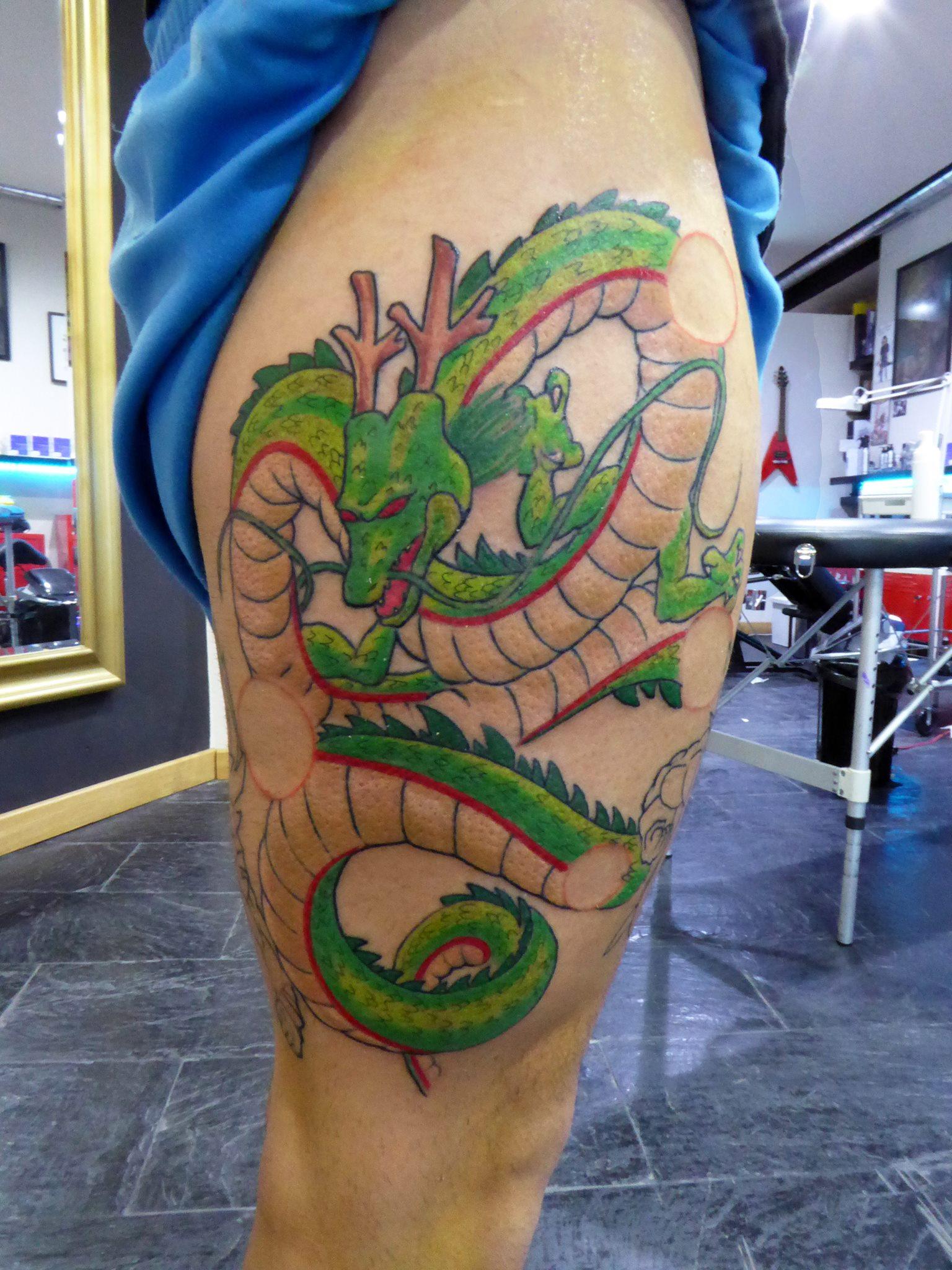 Tatuaje De Shenron De Bola De Dragón