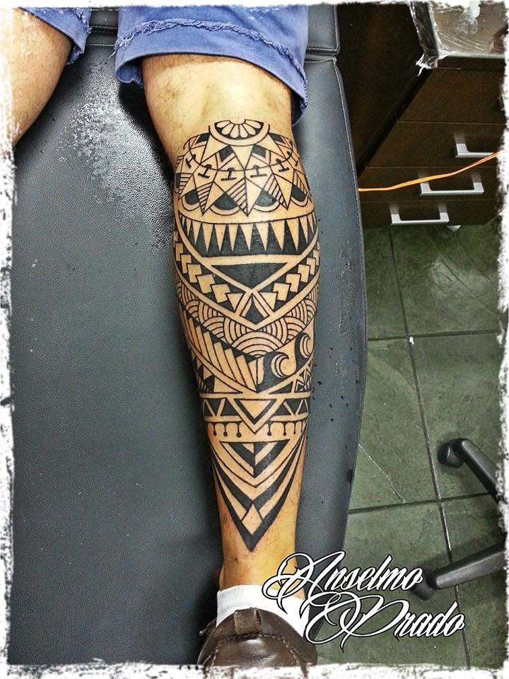 Tattoo Maori En El Gemelo - Tattoo-gemelos