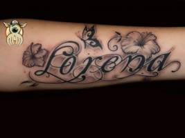 Tatuaje Del Nombre Sandra