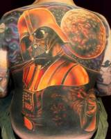 Tatuaje de Darth Vader de Star Wars