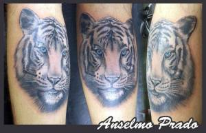 Tattoo de un tigre